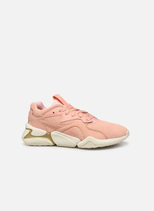 Sneaker Puma Nova Pastel Grunge Wn's rosa ansicht von hinten