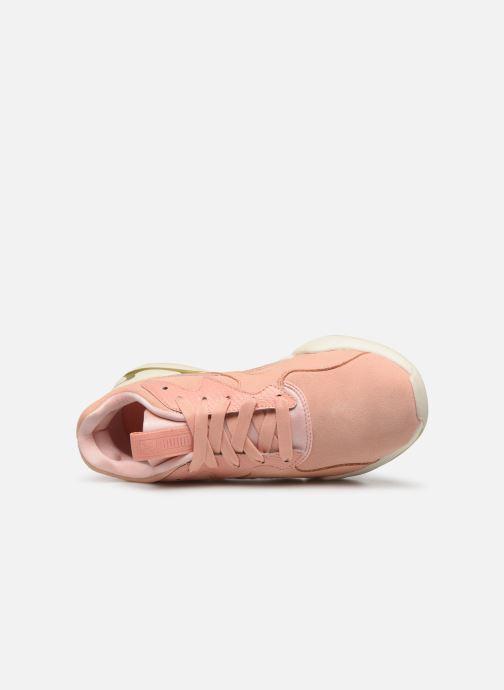 Sneaker Puma Nova Pastel Grunge Wn's rosa ansicht von links