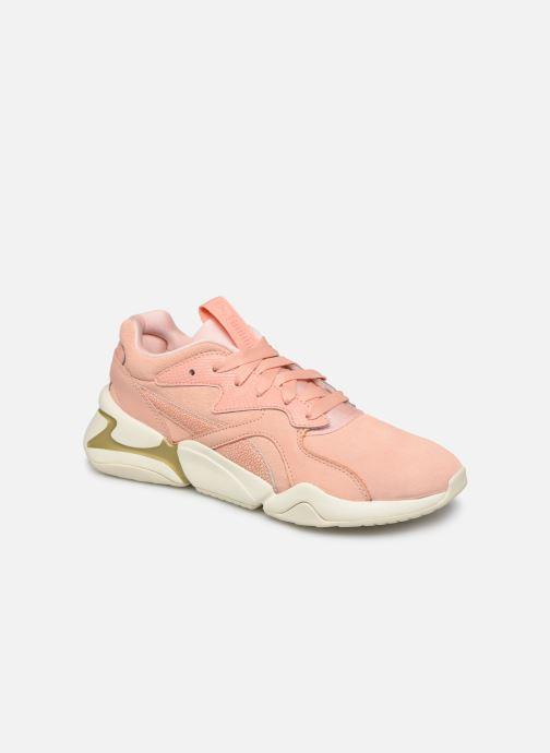 Sneaker Puma Nova Pastel Grunge Wn's rosa detaillierte ansicht/modell