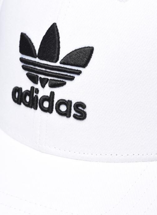Kasket adidas originals BASEB CLASS TRE Hvid se forfra