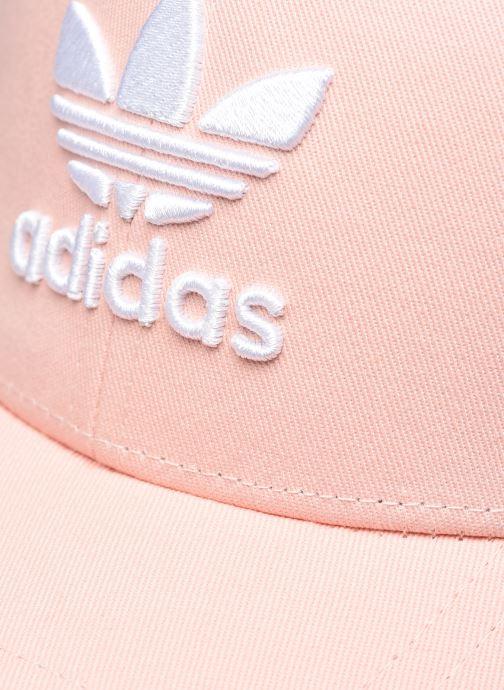 Kappe adidas originals BASEB CLASS TRE rosa ansicht von vorne