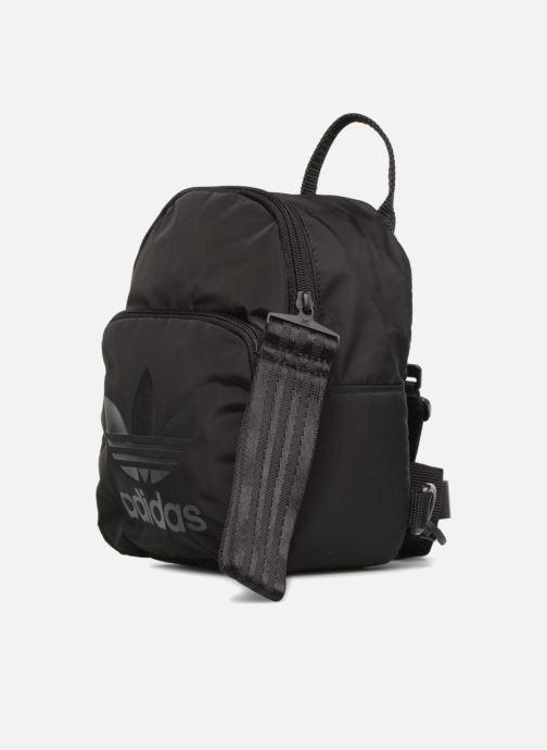 Rucksäcke adidas originals BACKPACK XS schwarz schuhe getragen