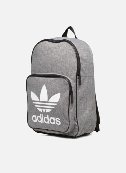 Rucksäcke Adidas Originals BP CLASSIC CASU grau schuhe getragen