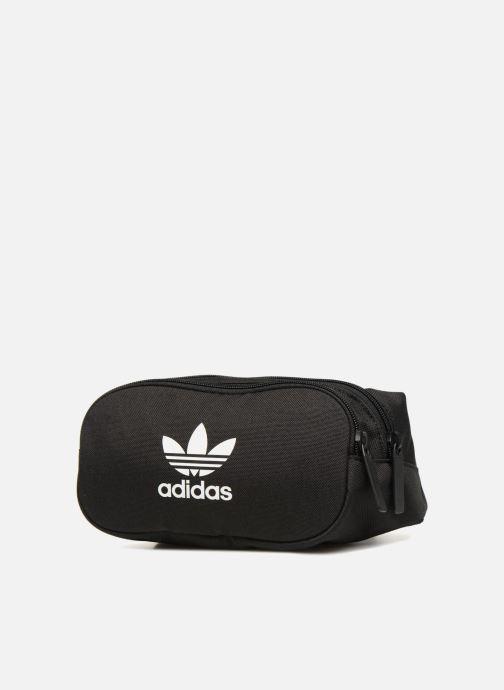 Marroquinería pequeña Adidas Originals ESSENTIAL CBODY Negro vista del modelo