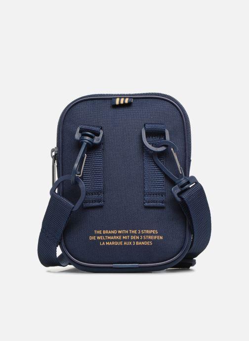 Kleine lederwaren adidas originals FESTVL B TREFOI Blauw voorkant