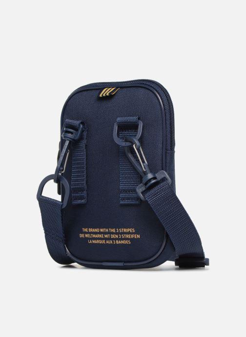 Petite Maroquinerie adidas originals FESTVL B TREFOI Bleu vue droite
