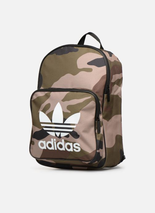 Rucksacks adidas originals BP CLASSIC CAMO Green model view