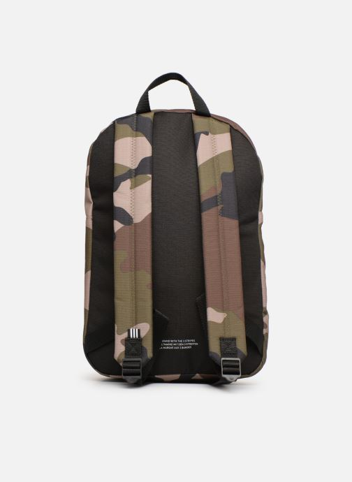 Rucksacks adidas originals BP CLASSIC CAMO Green front view
