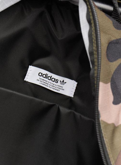 Rucksacks adidas originals BP CLASSIC CAMO Green back view