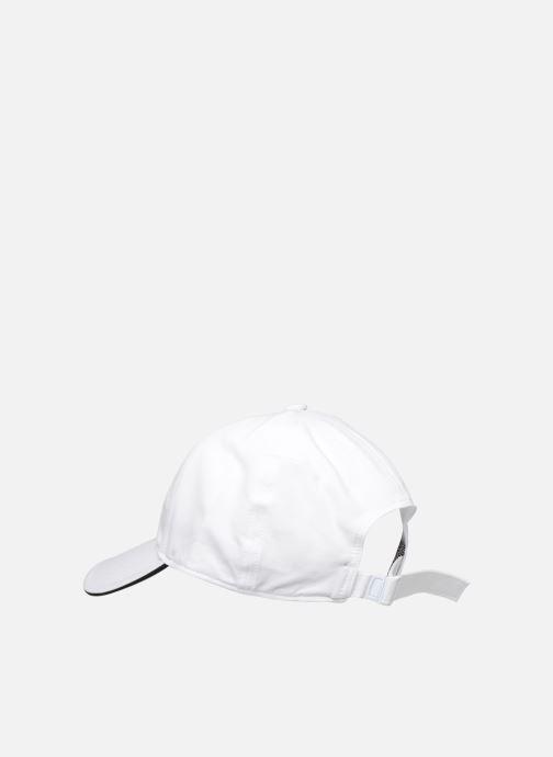 Cappellino adidas performance C40 5P CLMLT CA Bianco modello indossato