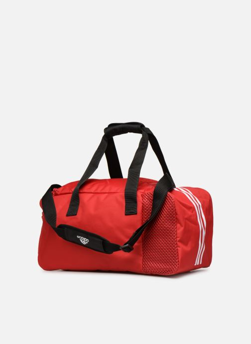 Sports bags adidas performance TIRO DU S Red view from the right