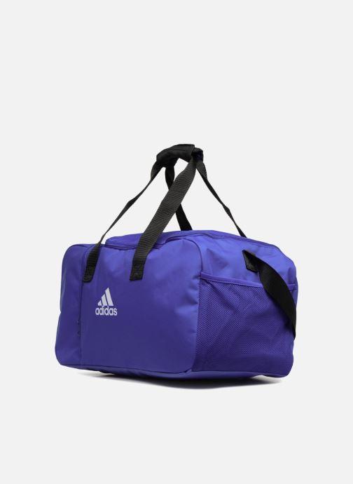 Bolsas de deporte Adidas Performance TIRO DU S Azul vista del modelo