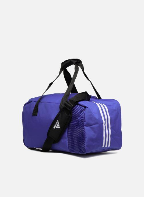 Sacs de sport adidas performance TIRO DU S Bleu vue droite