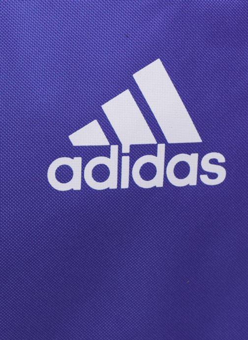 Sacs de sport adidas performance TIRO DU S Bleu vue gauche