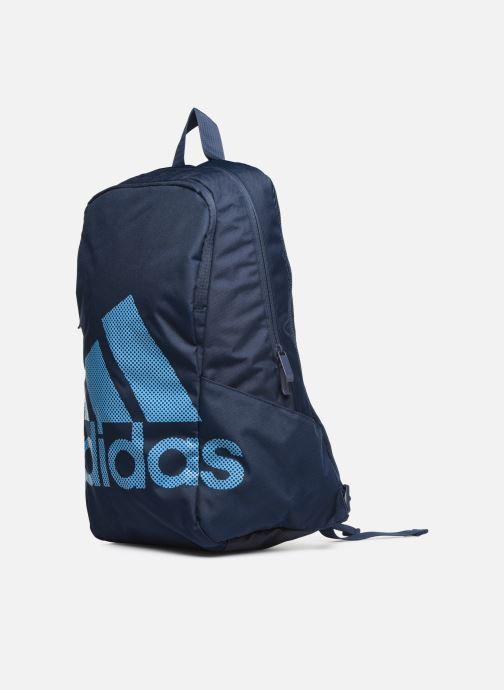 Zaini adidas performance PARKHOOD BOS Azzurro modello indossato