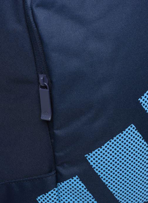 Mochilas adidas performance PARKHOOD BOS Azul vista lateral izquierda