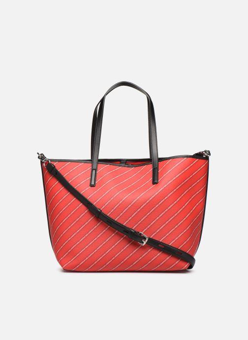 Sacs à main Karl Lagerfeld k/city shopper paris Rouge vue face