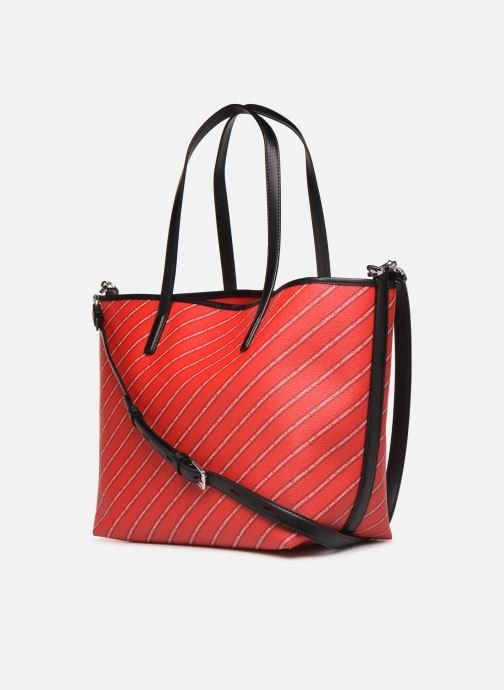 Sacs à main Karl Lagerfeld k/city shopper paris Rouge vue droite