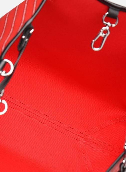 Sacs à main Karl Lagerfeld k/city shopper paris Rouge vue derrière