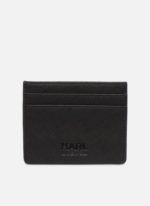 Petite Maroquinerie KARL LAGERFELD k/ikonik cardholder Noir vue face