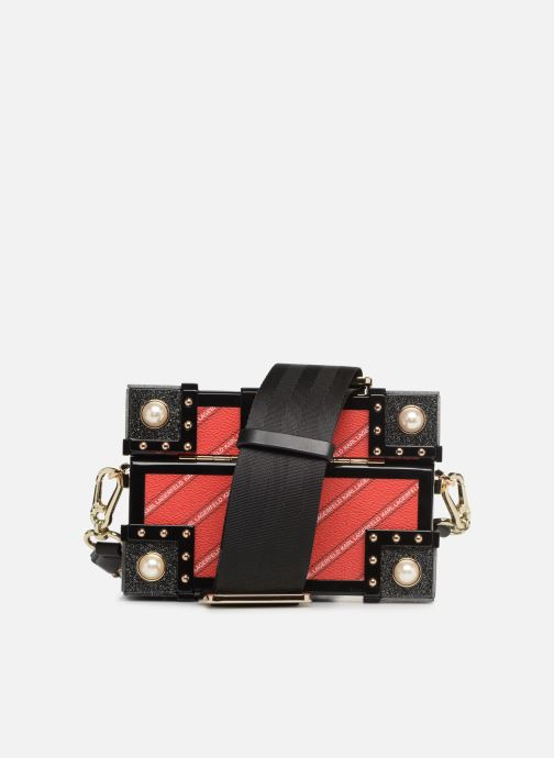 Bolsos de mano Karl Lagerfeld karl treasure box minaudiere Rojo vista de frente