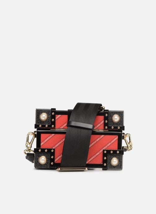 Sacs à main Karl Lagerfeld karl treasure box minaudiere Rouge vue face