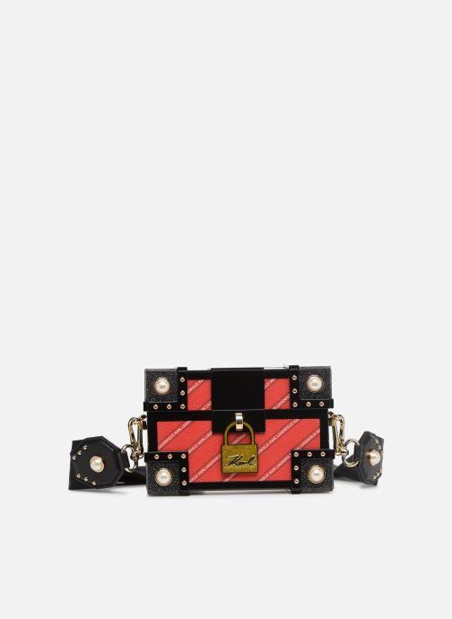 Sacs à main KARL LAGERFELD karl treasure box minaudiere Rouge vue détail/paire