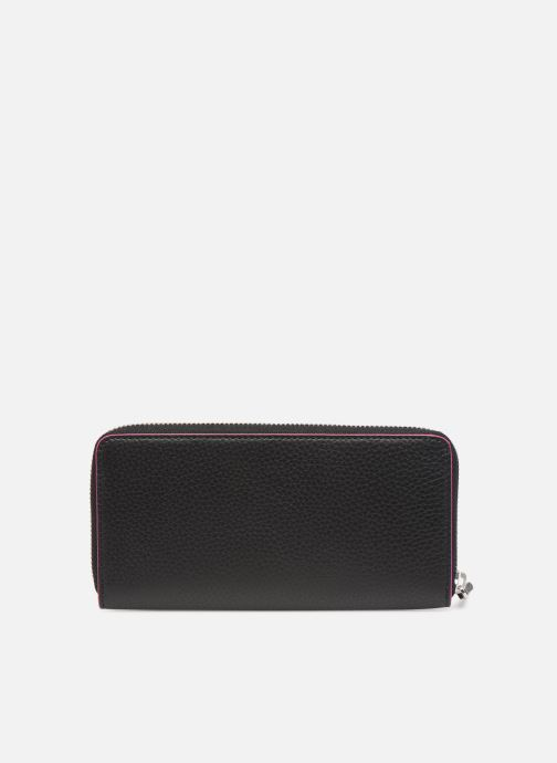 Petite Maroquinerie KARL LAGERFELD k/karry all zip around wallet Noir vue face
