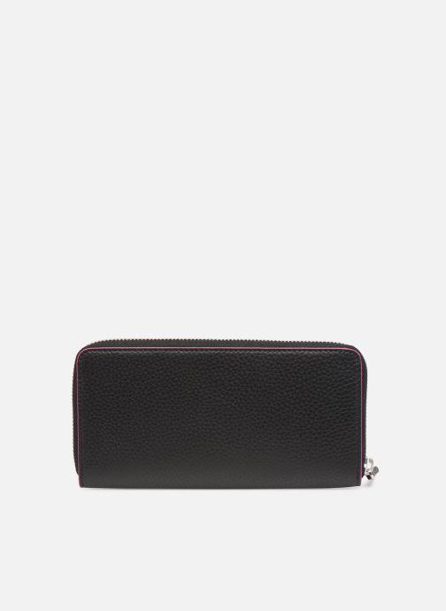 Kleine lederwaren Karl Lagerfeld k/karry all zip around wallet Zwart voorkant