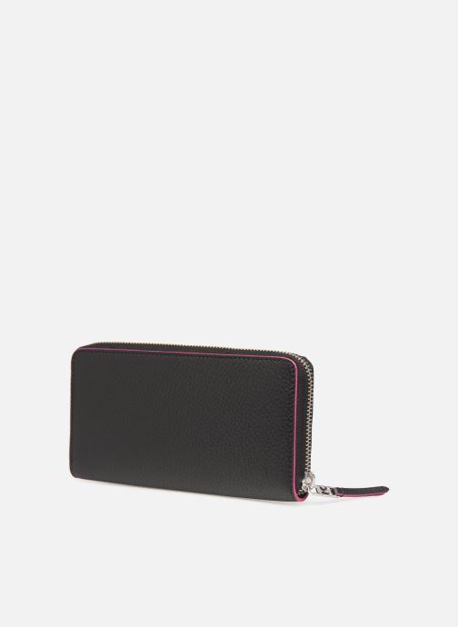 Kleine lederwaren Karl Lagerfeld k/karry all zip around wallet Zwart rechts