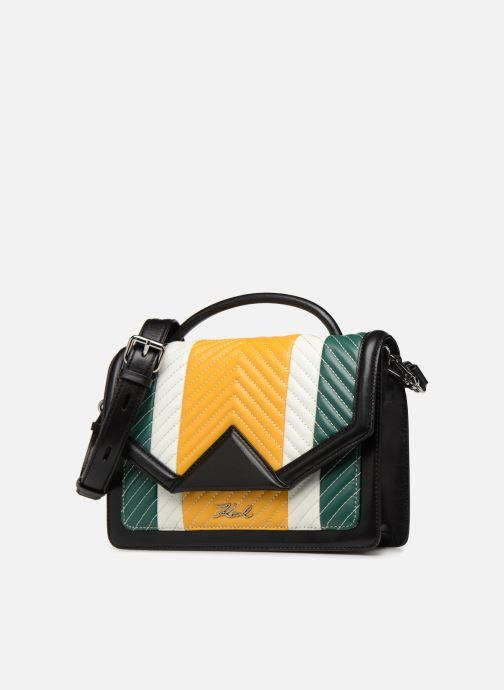 Handtaschen KARL LAGERFELD k/klassik quilted multi sb gelb schuhe getragen