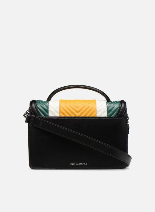 Handtaschen KARL LAGERFELD k/klassik quilted multi sb gelb ansicht von vorne