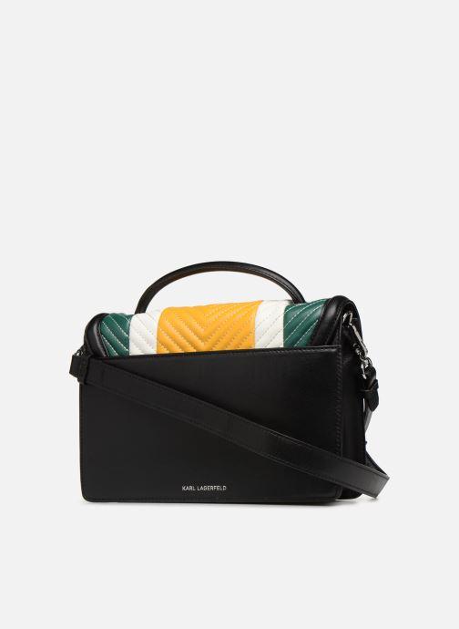 Handtaschen KARL LAGERFELD k/klassik quilted multi sb gelb ansicht von rechts