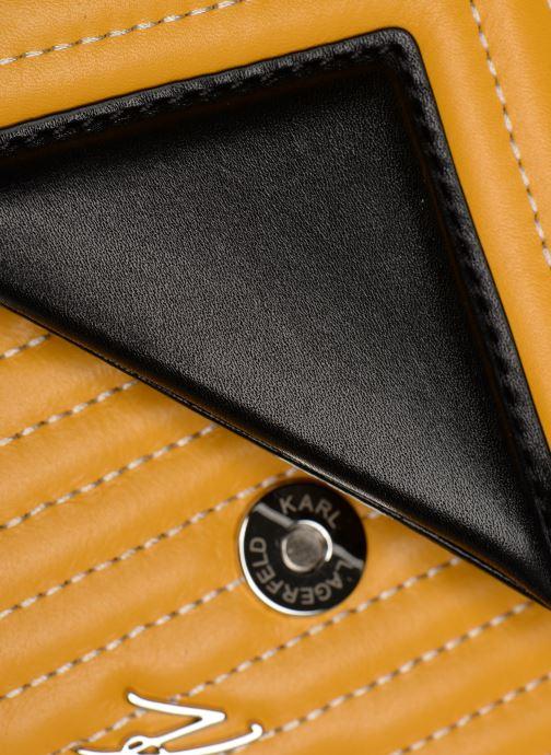 Handtaschen KARL LAGERFELD k/klassik quilted multi sb gelb ansicht von links