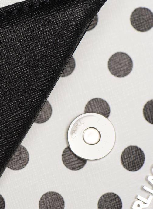 Sacs à main KARL LAGERFELD k/klassik special dots sb Blanc vue gauche