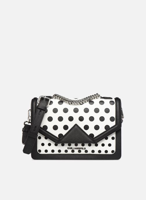Handbags KARL LAGERFELD k/klassik special dots sb White detailed view/ Pair view
