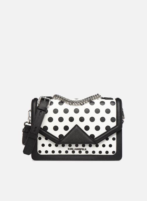 Sacs à main Karl Lagerfeld k/klassik special dots sb Blanc vue détail/paire