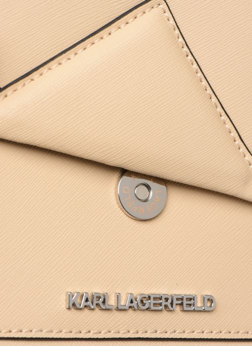 Sacs à main KARL LAGERFELD k/klassik shoulderbag Rose vue gauche