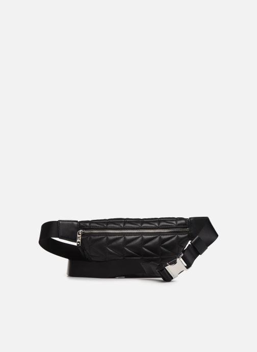Petite Maroquinerie Karl Lagerfeld k/kuilted studs bumbag Noir vue face