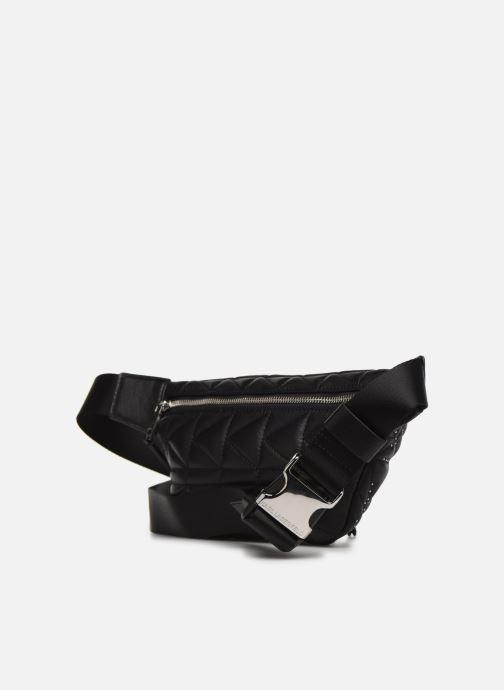 Petite Maroquinerie Karl Lagerfeld k/kuilted studs bumbag Noir vue droite