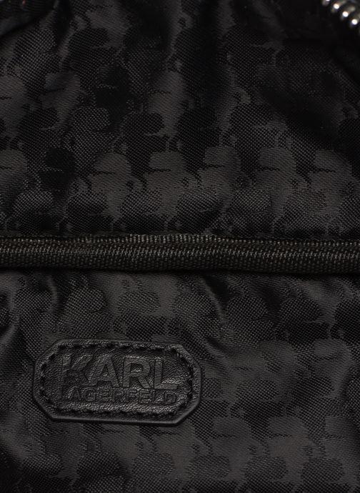 Petite Maroquinerie Karl Lagerfeld k/kuilted studs bumbag Noir vue derrière
