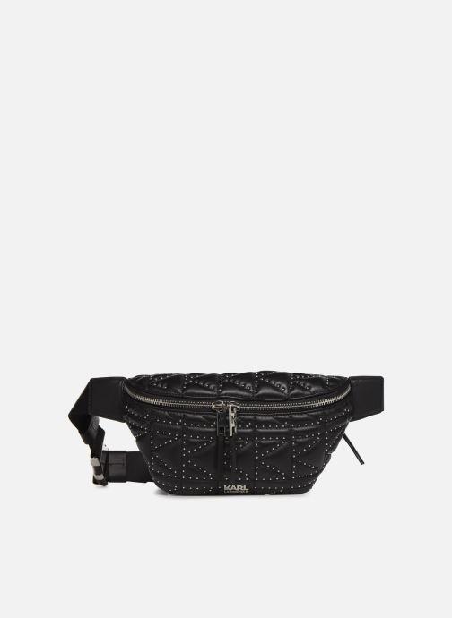 Petite Maroquinerie KARL LAGERFELD k/kuilted studs bumbag Noir vue détail/paire