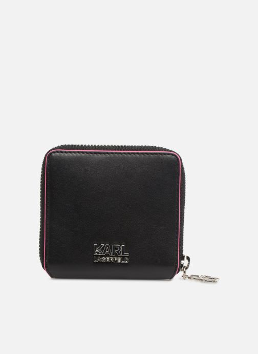 Petite Maroquinerie KARL LAGERFELD k/neon small wallet Noir vue face