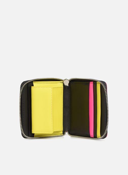 Kleine lederwaren KARL LAGERFELD k/neon small wallet Zwart achterkant
