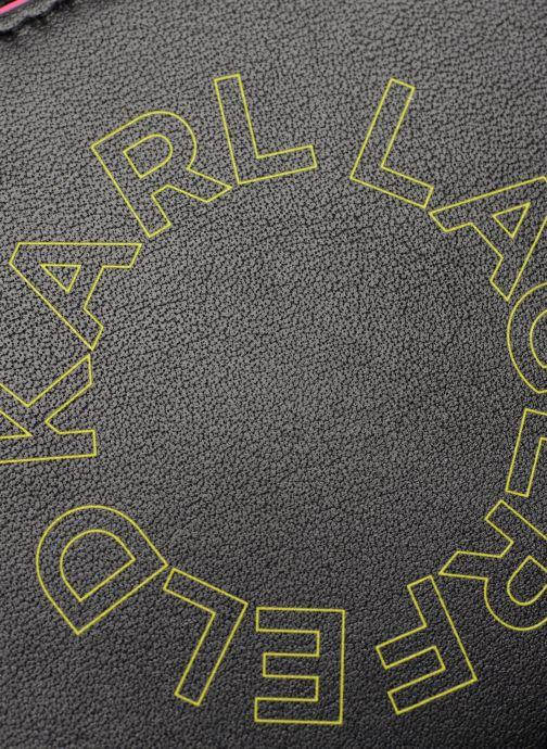Pelletteria KARL LAGERFELD k/neon small wallet Nero immagine sinistra