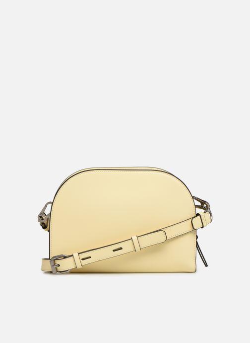 Bolsos de mano Karl Lagerfeld k/signature big crossb (tacco) Amarillo vista de frente