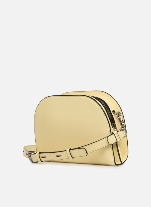 Bolsos de mano Karl Lagerfeld k/signature big crossb (tacco) Amarillo vista lateral derecha