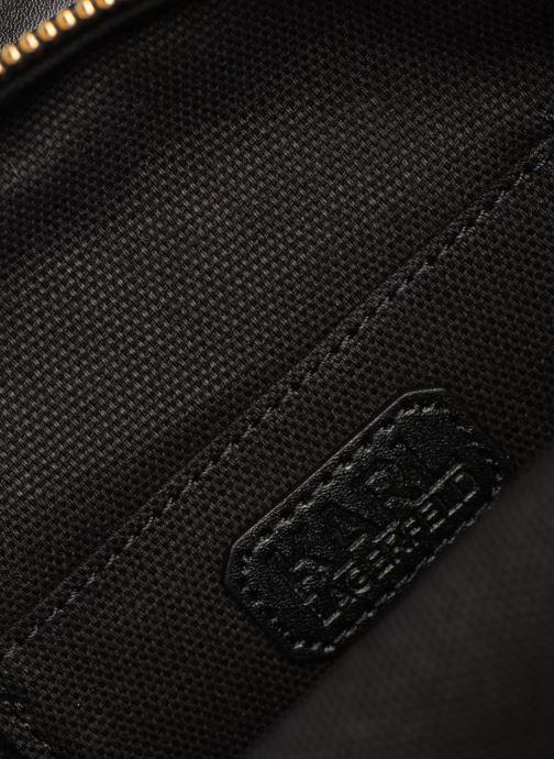 Borse KARL LAGERFELD k/signature round crossbody Nero immagine posteriore