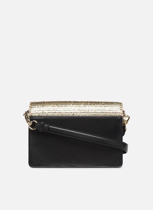 Handtassen Karl Lagerfeld k/signature raffia shoulderbag Goud en brons voorkant