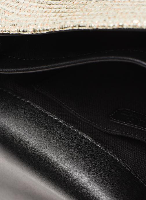 Handtassen Karl Lagerfeld k/signature raffia shoulderbag Goud en brons achterkant